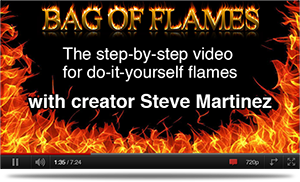 How To Use Bag Of Flames Videos